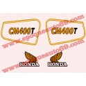 Kit autocollants Stickers Honda CM 400 T