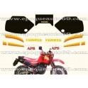 Autocollants - Stickers Aprilia TUAREG 350 année 1986