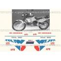 Autocollants - Stickers Aprilia TUAREG wind 125 année 1987