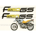 Kit autocollants -stickers bmw f 650 gs