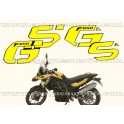 Kit autocollants -stickers bmw f 650 gs de 2012