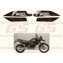 Kit autocollants -stickers bmw 800 gs édition black