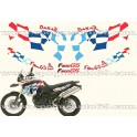 Kit autocollants -stickers bmw 800 gs dakar