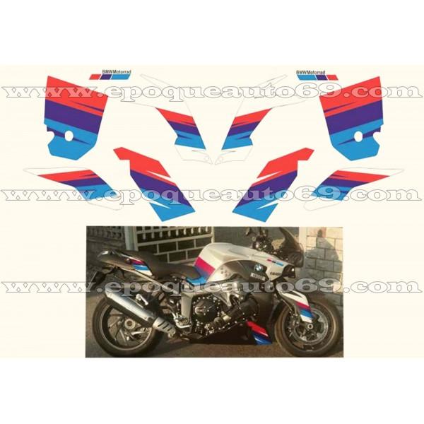 kit autocollants stickers bmw k 1300 r motorrad epoqueauto69. Black Bedroom Furniture Sets. Home Design Ideas