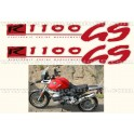 Kit autocollants - stickers bmw R 1100 GS année 1996