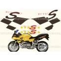 Kit autocollants - stickers bmw R 1100 S année 2001