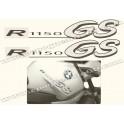 Kit autocollants - stickers bmw R 1150 GS année 2003