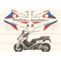"Kit autocollants -stickers bmw C600 sport ""SBK"""