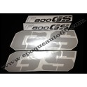 Kit autocollants -stickers bmw f 800 gs