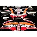 Kit autocollants stickers complet HONDA CBR 1000 RR REPSOL 2007
