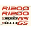 Kit autocollants - stickers bmw R 1200 GS année 2009