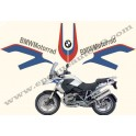 Kit autocollants -stickers bmw r 1200 gs motorrad
