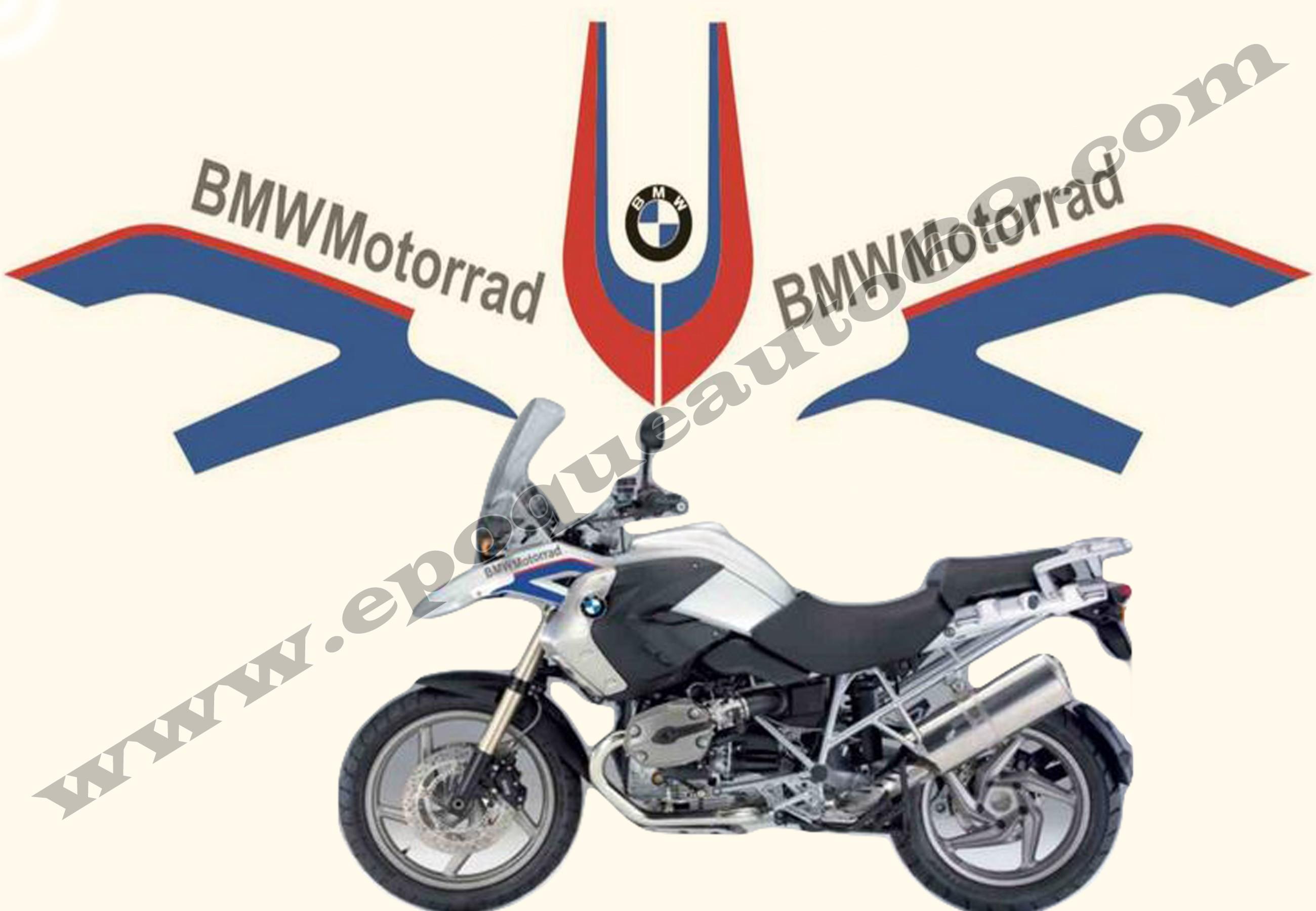autocollant moto bmw id es d 39 image de moto. Black Bedroom Furniture Sets. Home Design Ideas
