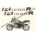 Kit autocollants -stickers bmw R 1200 r