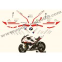 Kit autocollants -stickers BMW S 1000 RR sbk 2012
