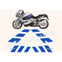 Kit autocollants - stickers BMW K 1200 RS année 1999