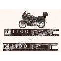 Kit autocollants - stickers bmw R 1100 RT