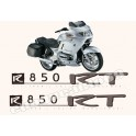 Kit autocollants - stickers bmw R 850 RT