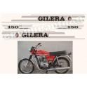 Kit autocollants stickers GILERA 5V 150 ARCORE