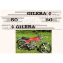 Kit autocollants stickers GILERA 5V 50 TOURING
