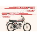 Kit autocollants stickers GILERA 5V TOURING 7hp