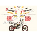 Autocollants - Stickers Yamaha super tenere xtz 660 année 2008 chesterfield