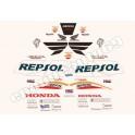 Autocollants stickers Honda CBR 1000 RR Repsol année 2005