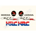 KIT AUTOCOLLANTS STICKERS HONDA CBR 1000 RR HRC
