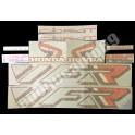 Autocollants - Stickers Honda VFR CARAT année 1990
