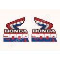 Kit Autocollants - Stickers 2 ailes honda xr 200 r
