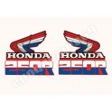 Kit Autocollants - Stickers 2 ailes honda xr 250 r