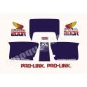 Kit Autocollants - Stickers honda XL 200 R année 1984