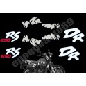 Kit autocollants - stickers suzuki 650 DRS de 1992