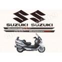 Autocollants - Stickers suzuki Burgman 650