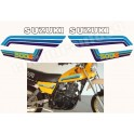 Kit autocollants - stickers suzuki DR 500 S