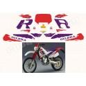 Autocollants - Stickers GILERA RC 600 ANNÉE 1989
