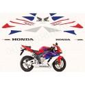 Autocollants stickers phare Honda CBR 1000R