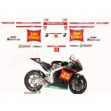 KIT AUTOCOLLANTS STICKERS HONDA CBR 1000 600 MOTO GP 2011 SAN CARLO