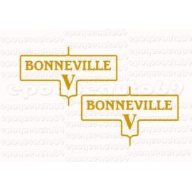 Kit 2 autocollants Stickers bonneville (2)