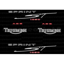 Kit autocollants Stickers triumph sprint st 955 année 1999