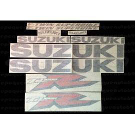 Autocollants - Stickers Suzuki TL 1000S année 1997 version noir