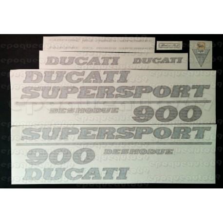 Kit autocollants -stickers ducati 900 Supersport (1)