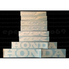 Kit autocollants stickers honda CBR 1000 F