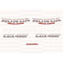 Autocollants - Stickers Honda CBX 400F