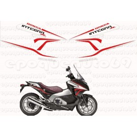 Autocollants - Stickers Honda Integra 700