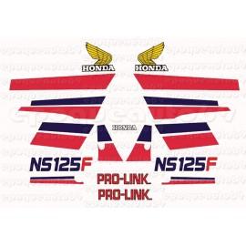 Autocollants stickers HONDA NSF 125