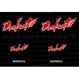 Kit autocollants Stickers Honda Dominator complet