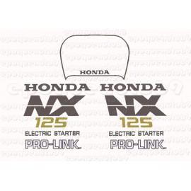 Autocollants - Stickers Honda NX 125