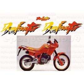 Kit autocollants Stickers Honda Dominator 650 RD 02 année 1991