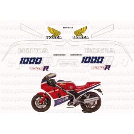 Autocollants - Stickers Honda VFR 750 V4